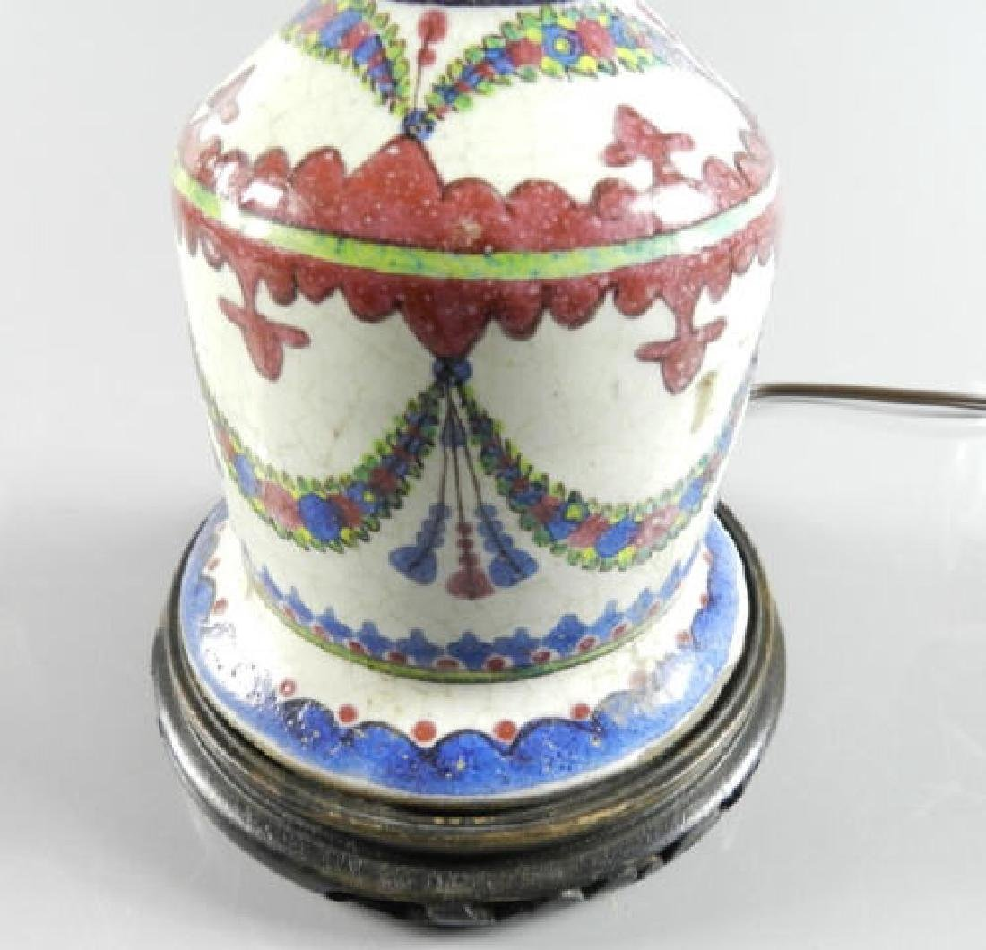Late 18th Century Persian Vase Now Lamp - 2
