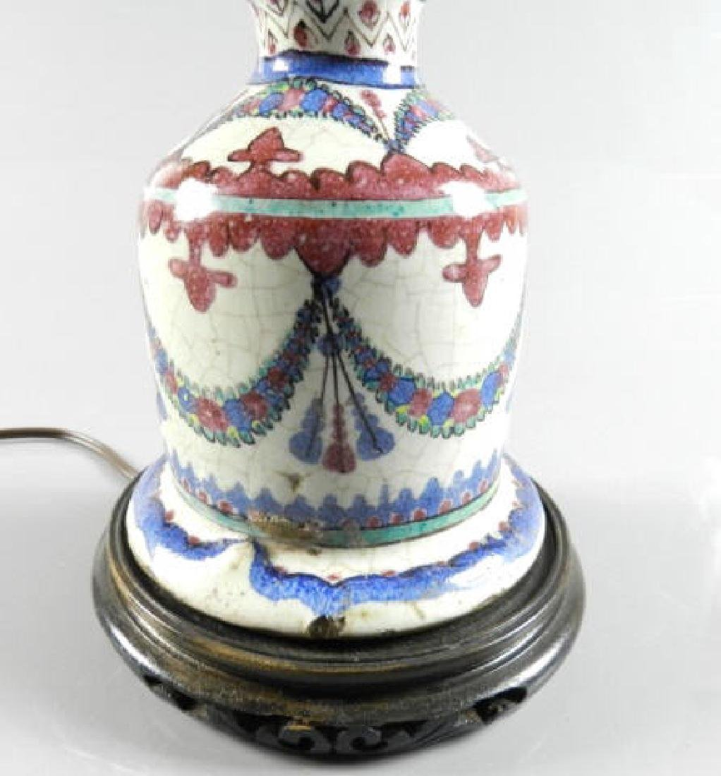 Late 18th Century Persian Vase Now Lamp - 4