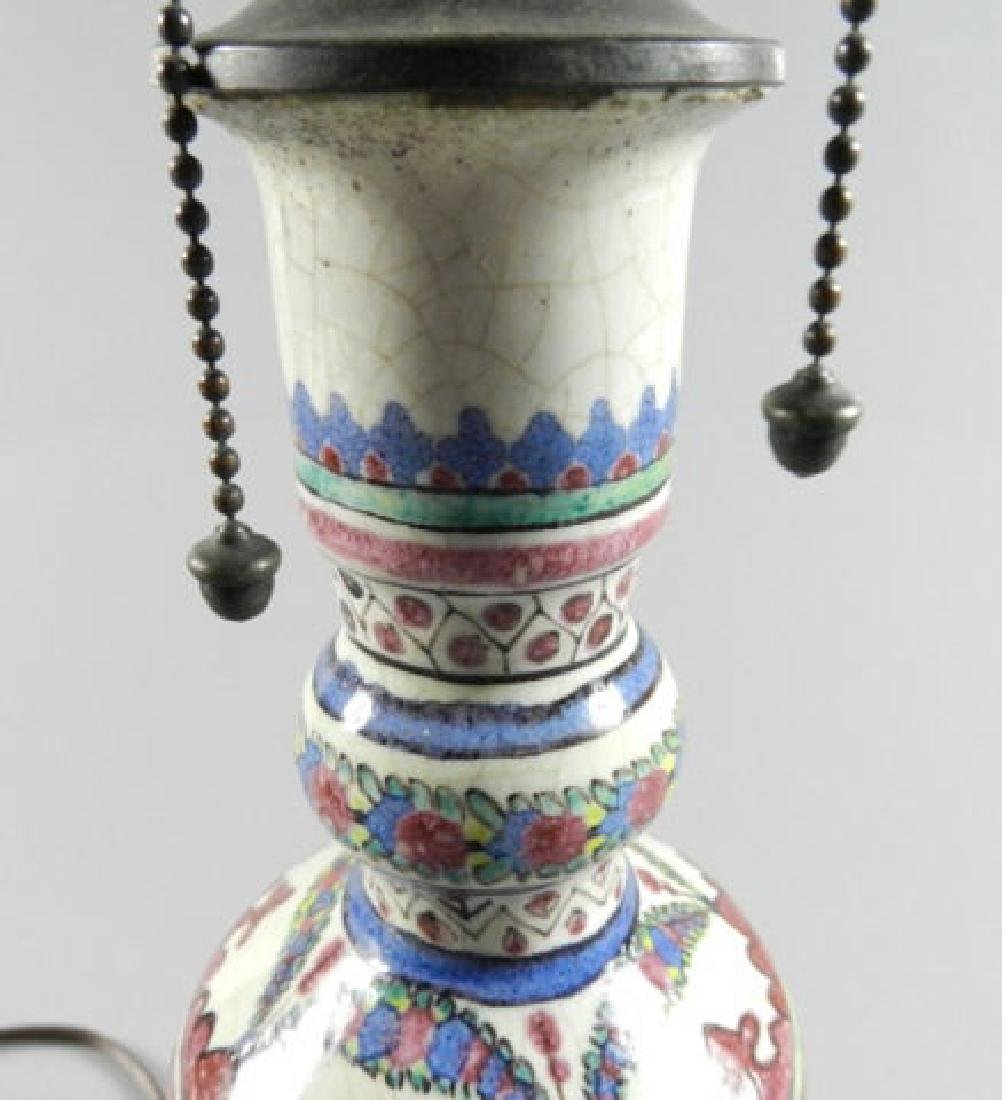 Late 18th Century Persian Vase Now Lamp - 5