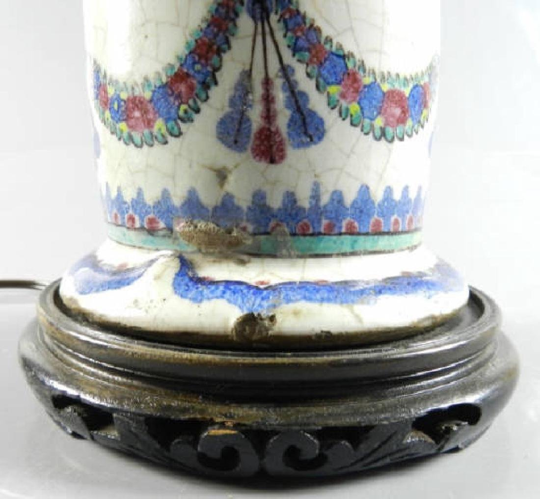 Late 18th Century Persian Vase Now Lamp - 6
