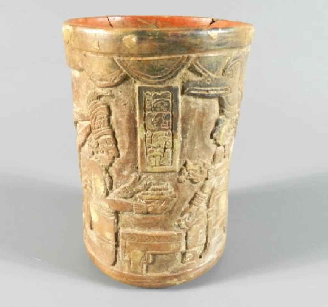 Circa 600-900 A.D. Pre-Colombian Pottery