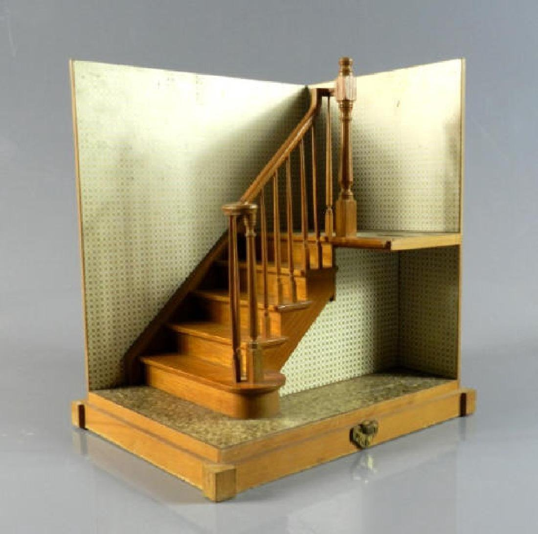 C. 1950 Maquette Staircase & Banister