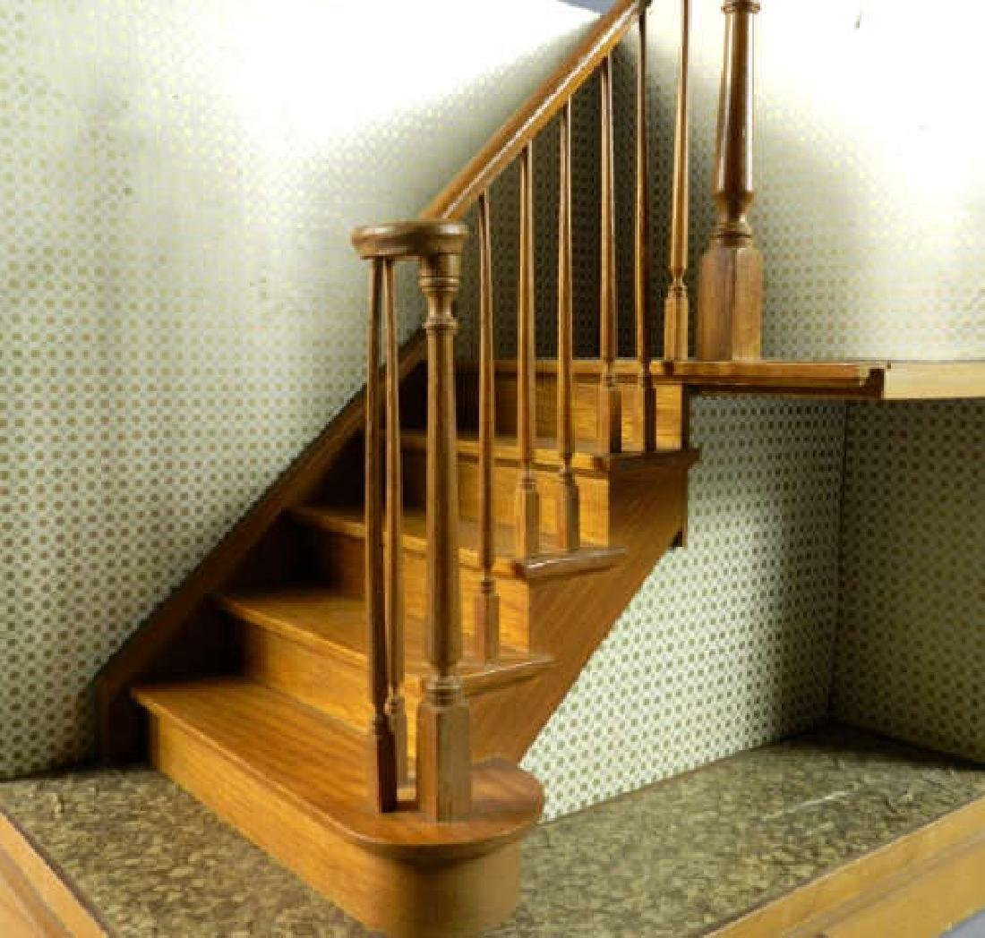 C. 1950 Maquette Staircase & Banister - 2