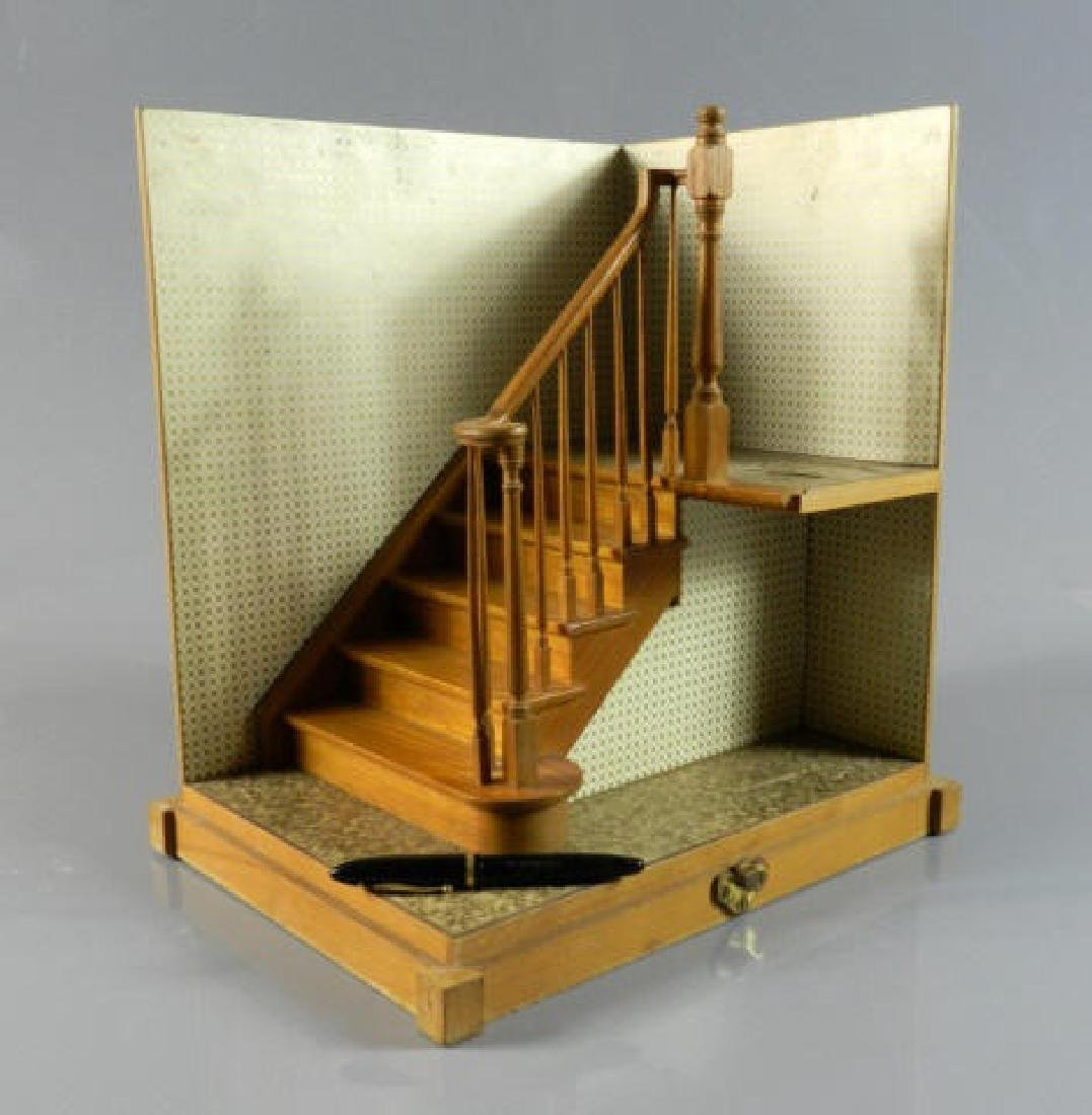 C. 1950 Maquette Staircase & Banister - 3