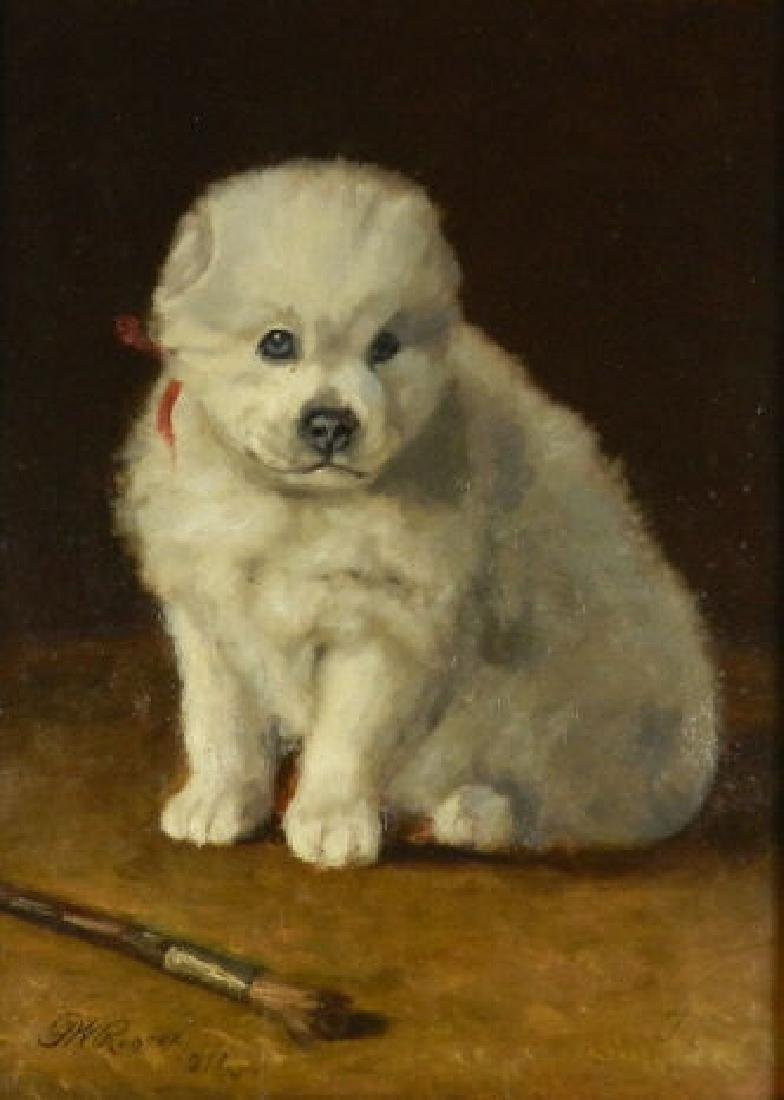 Art - Frank W. ROGERS (1854-1917, American)