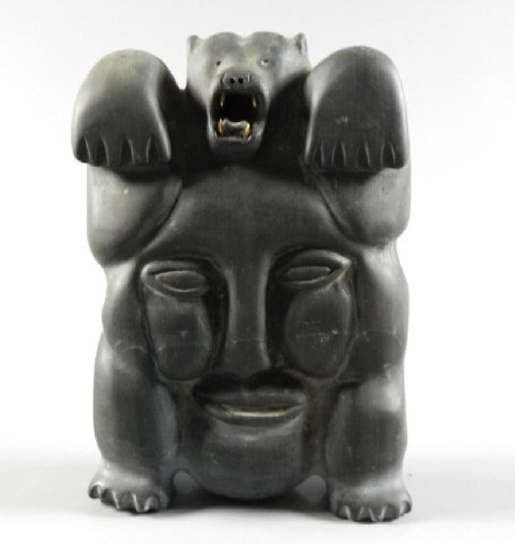 Inuit Art - Henry NAPARTUK (b. 1932, Nunavik) - 3