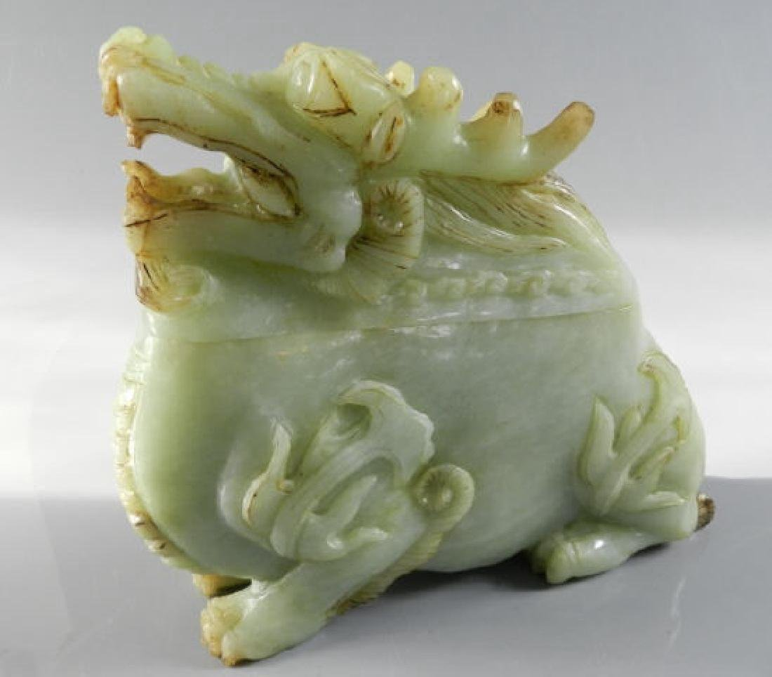 Chinese Hard Stone Carving Of Incense Burner