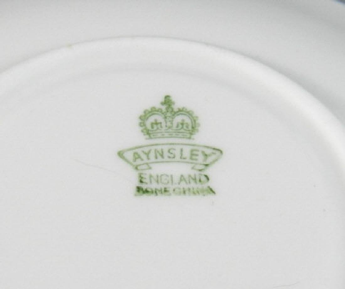 Three Aynsley Royal & Fruit Pattern Cups & Saucers - 4