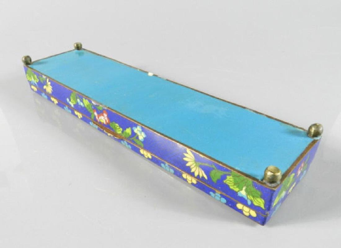 20th Century Cloisonne Chinese Box - 4