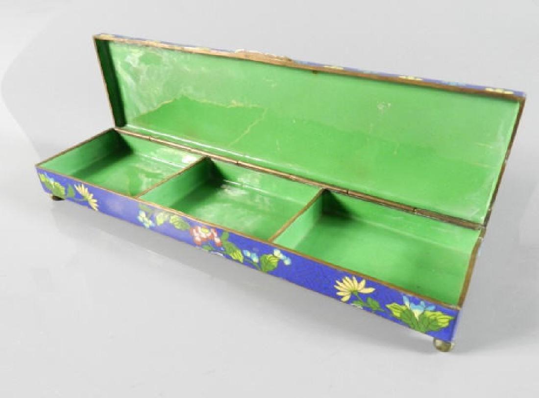 20th Century Cloisonne Chinese Box - 5