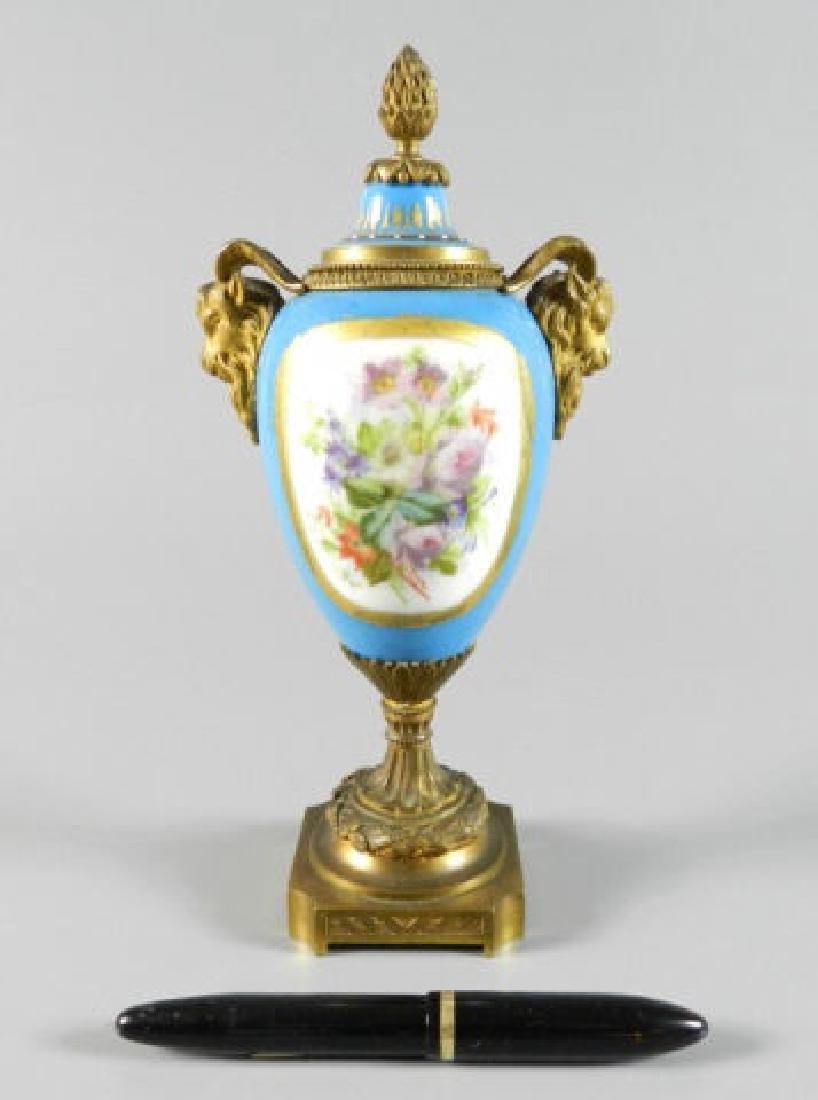 Seves France Porcelain Vase - 10