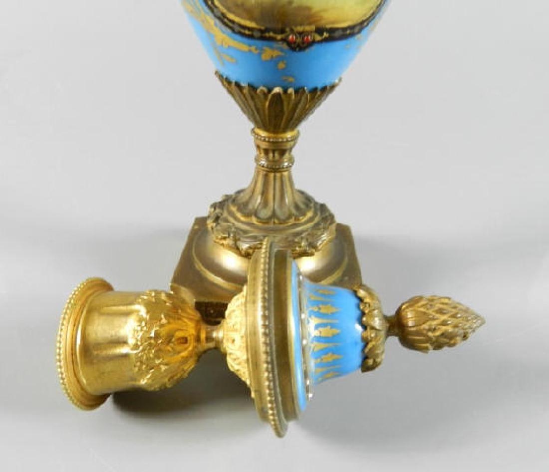 Seves France Porcelain Vase - 5