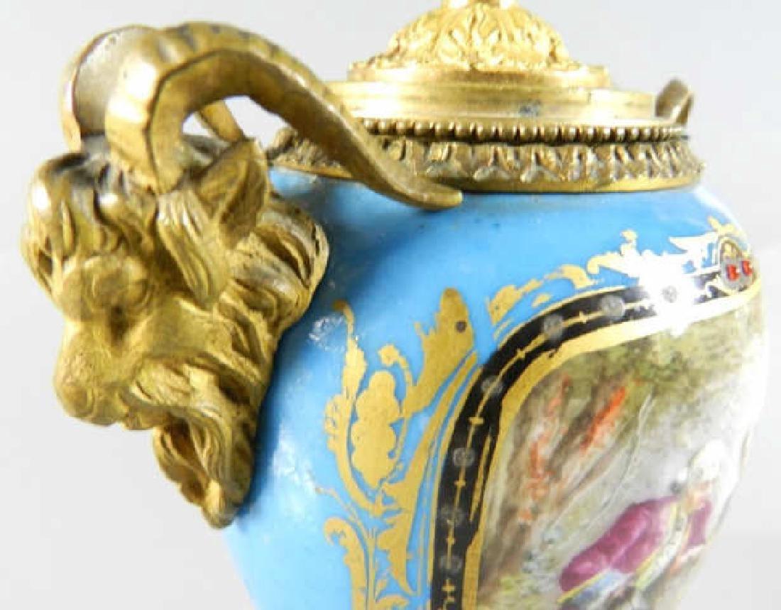 Seves France Porcelain Vase - 7