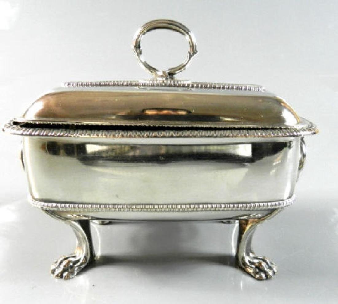 Small Silver Plated Sauce Tureen