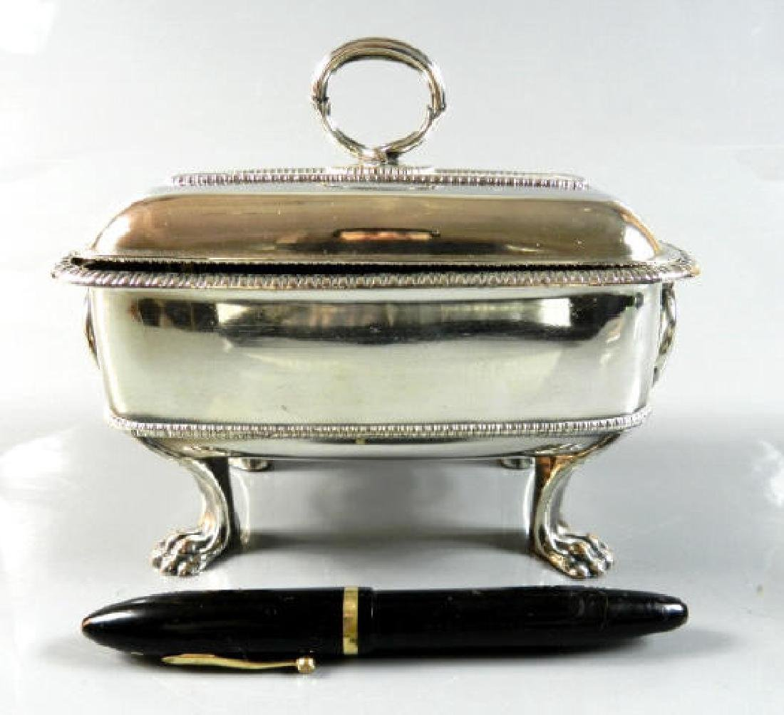 Small Silver Plated Sauce Tureen - 2