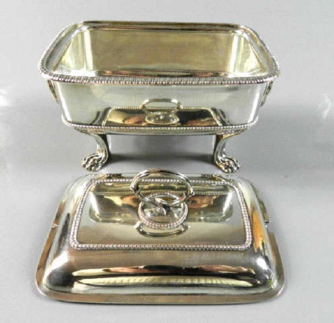 Small Silver Plated Sauce Tureen - 3