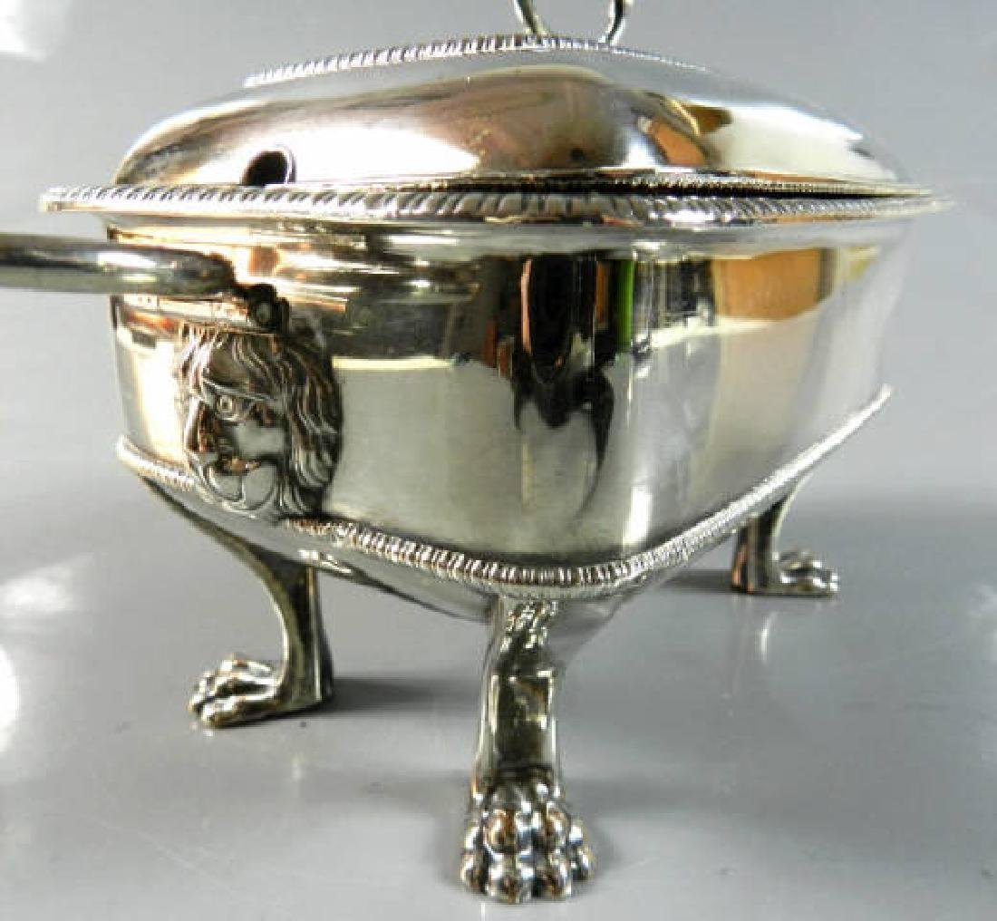 Small Silver Plated Sauce Tureen - 4