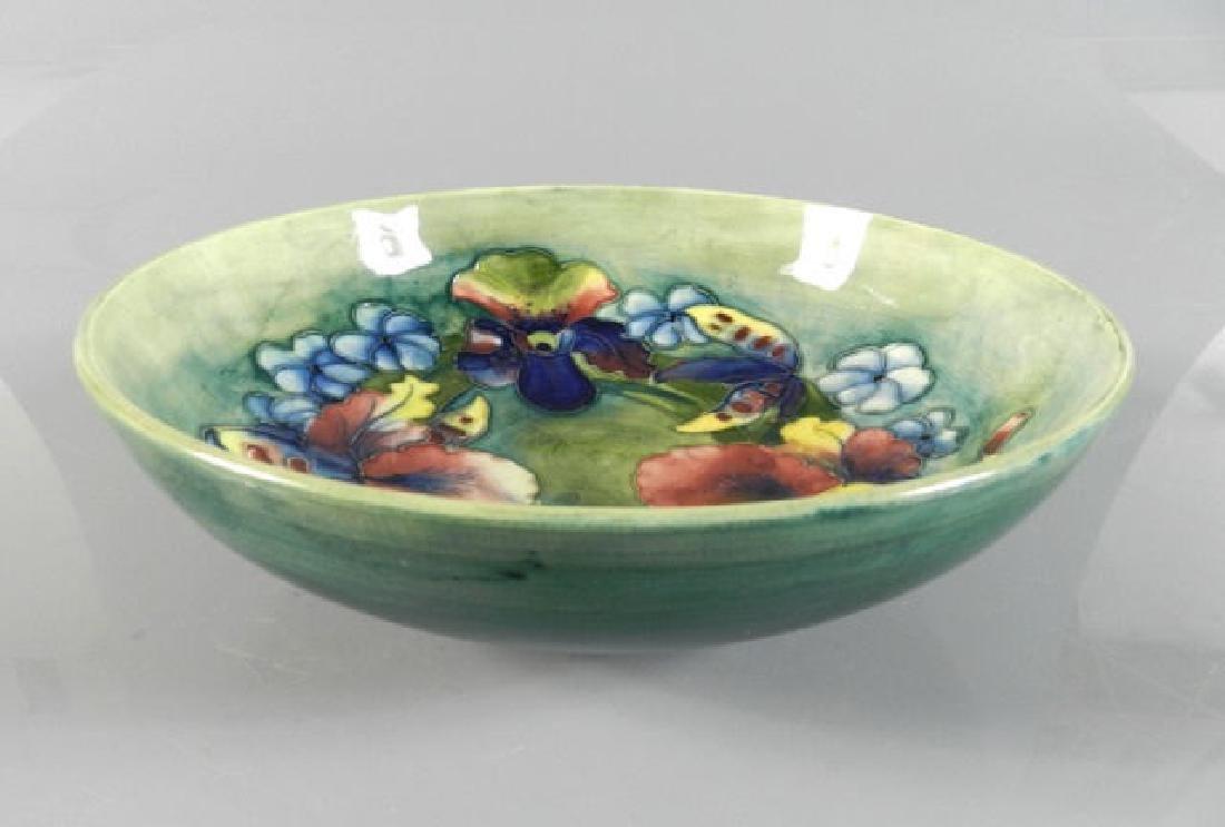 Moorcroft Orchid Pattern Bowl - 2