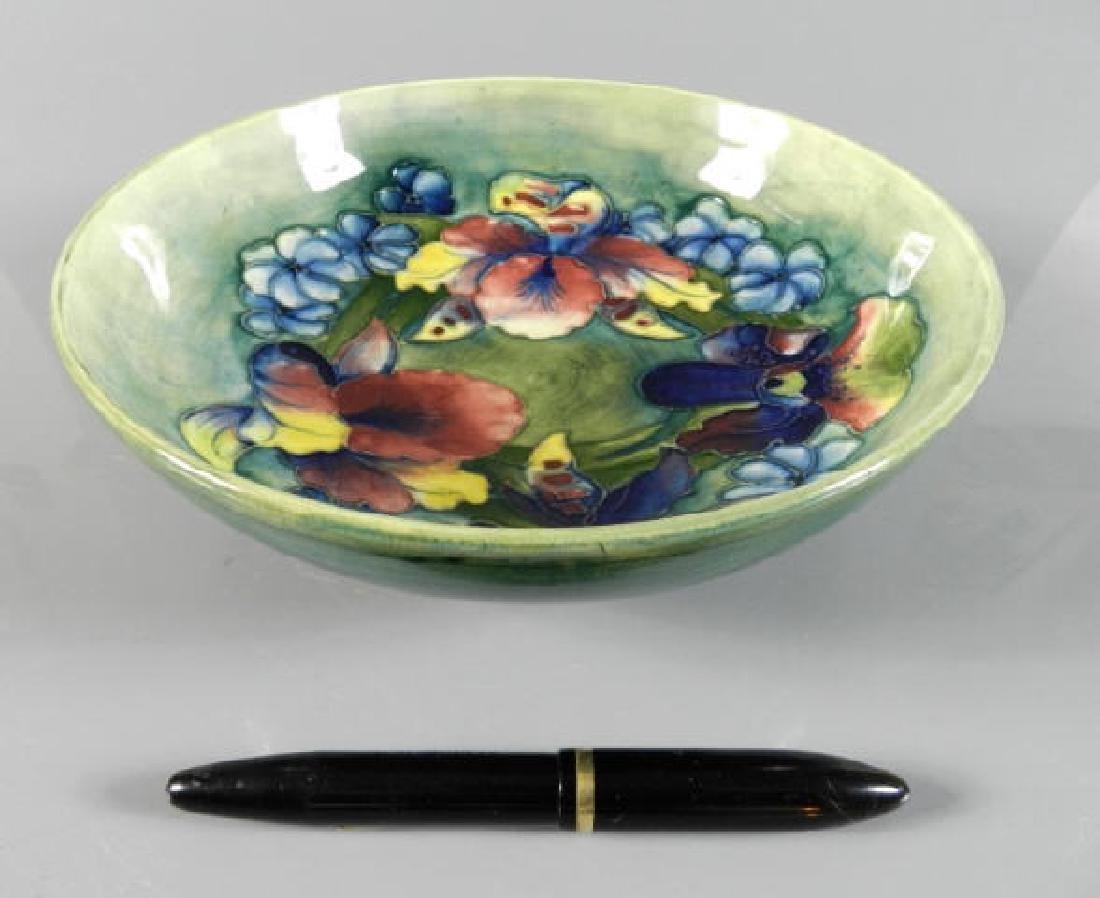 Moorcroft Orchid Pattern Bowl - 4