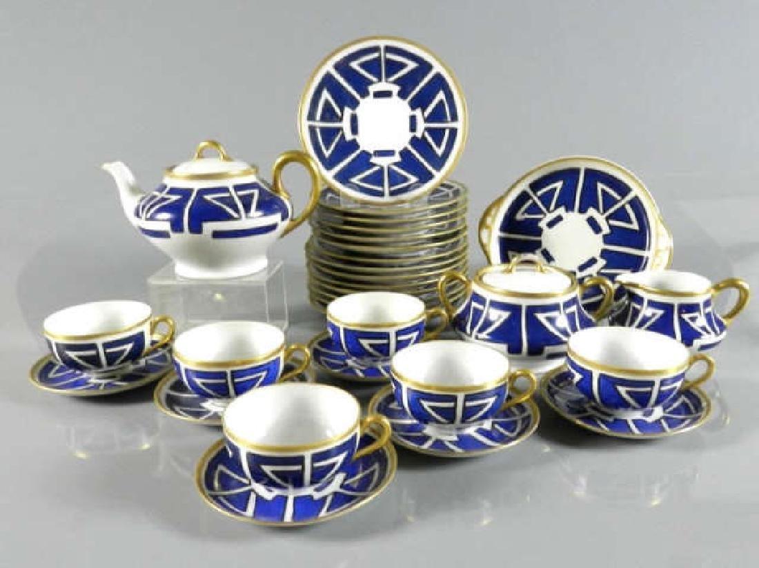 Partial Service Art Nouveau Design Dishes