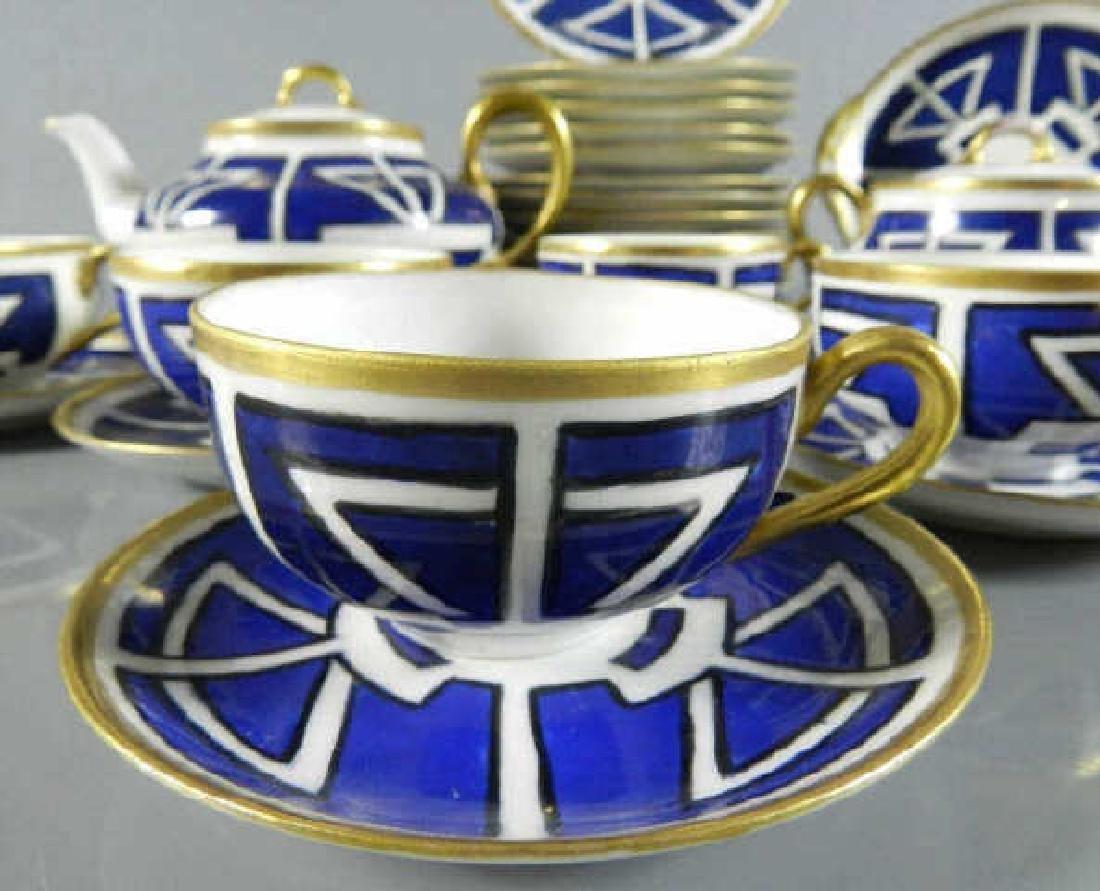 Partial Service Art Nouveau Design Dishes - 2