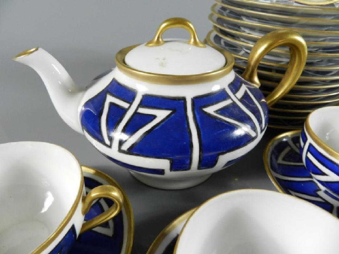 Partial Service Art Nouveau Design Dishes - 3