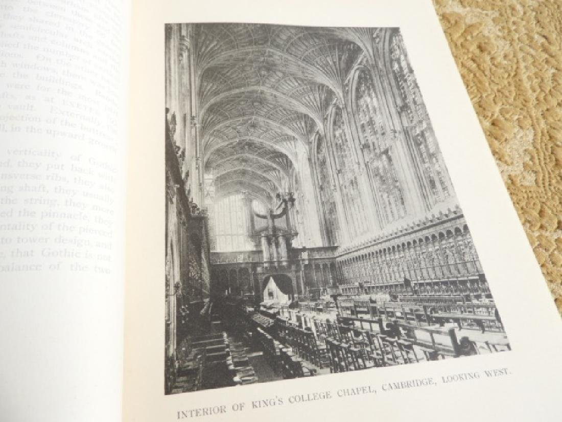TWO BOOKS GOTHIC ARCHITECTURE - 3