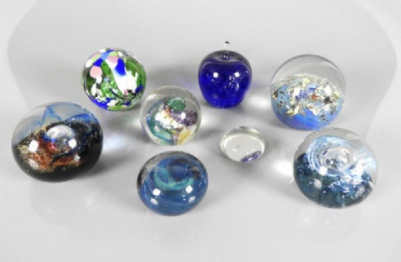 CONTEMPORARY PAPERWEIGHTS