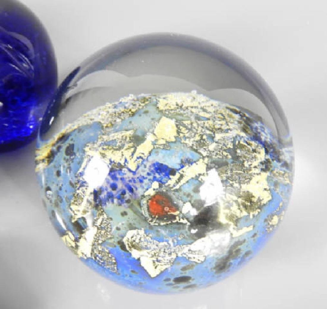 CONTEMPORARY PAPERWEIGHTS - 3
