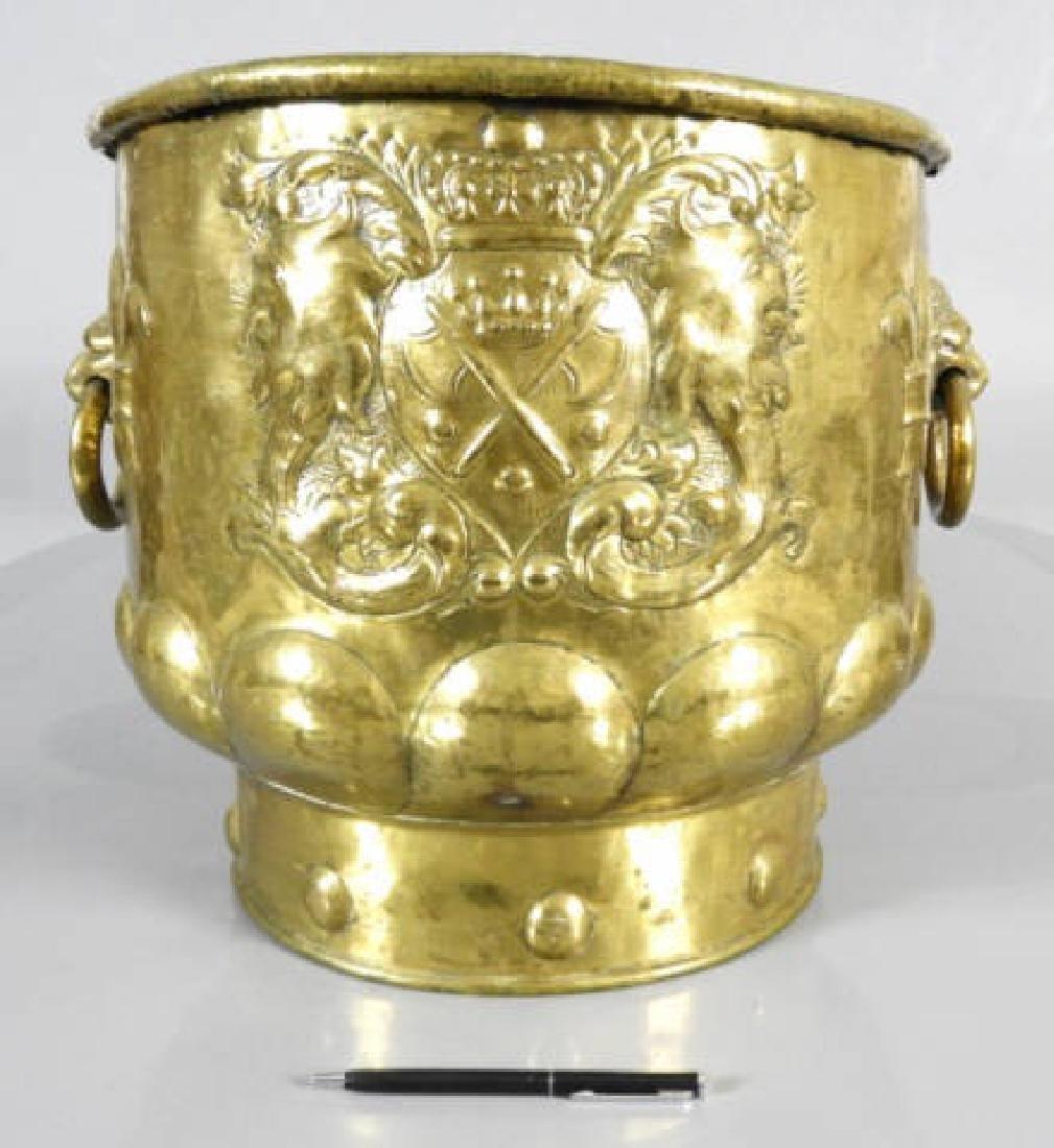 DUTCH BRASS WINE COOLER C. 1770 - 2