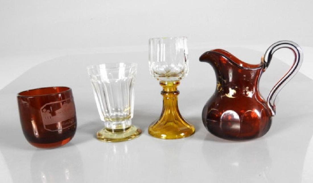 MID-19TH C. SPA GLASS