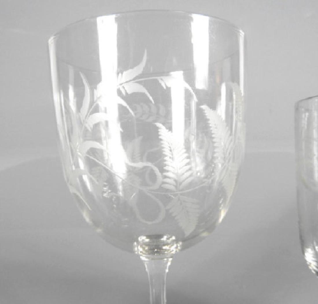 VICTORIAN WINE GLASSES - 2