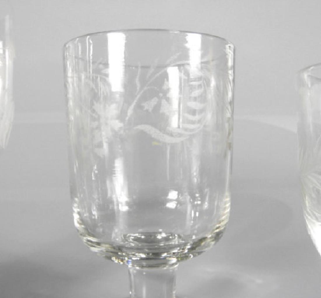 VICTORIAN WINE GLASSES - 4
