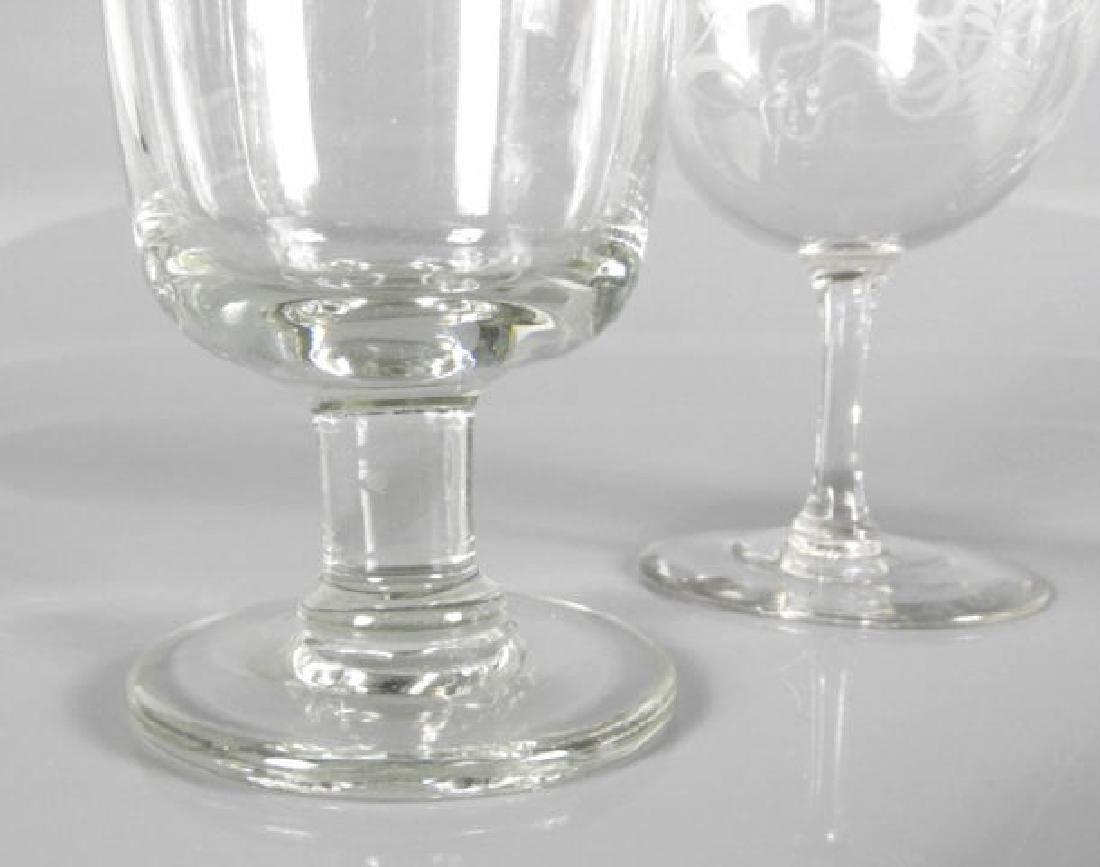 VICTORIAN WINE GLASSES - 5