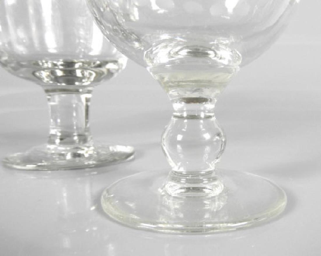 VICTORIAN WINE GLASSES - 7