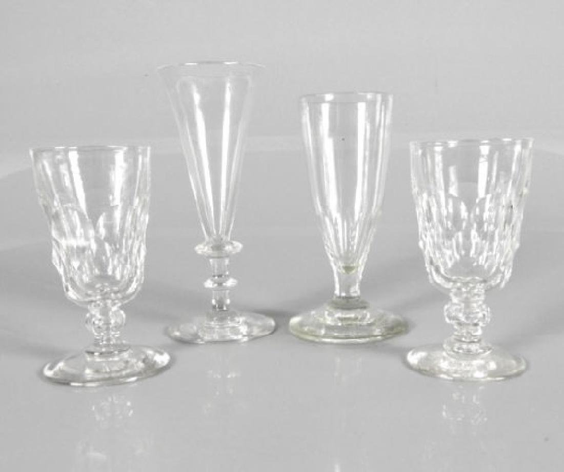 LATE 19TH C. DRINKING GLASSES