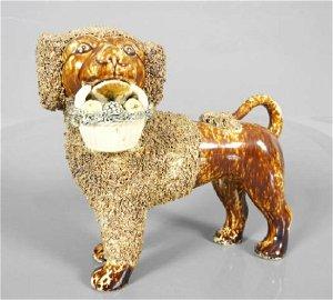 VERY GOOD & RARE BENNINGTON DOG
