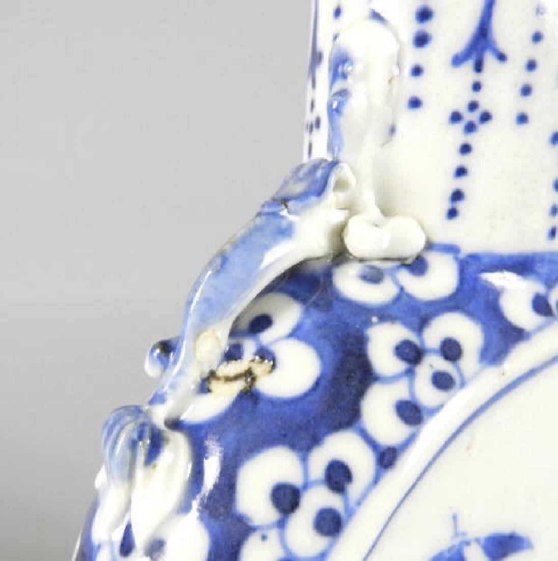 LATE 19TH C. CHINESE MOON VASE - 5