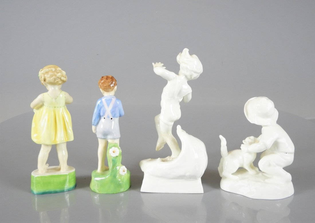 ROYAL WORCESTER FIGURINES & ROYAL DOULTON - 8