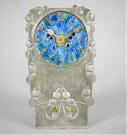 ARCHIBALD KNOX TUDRIC PEWTER CLOCK