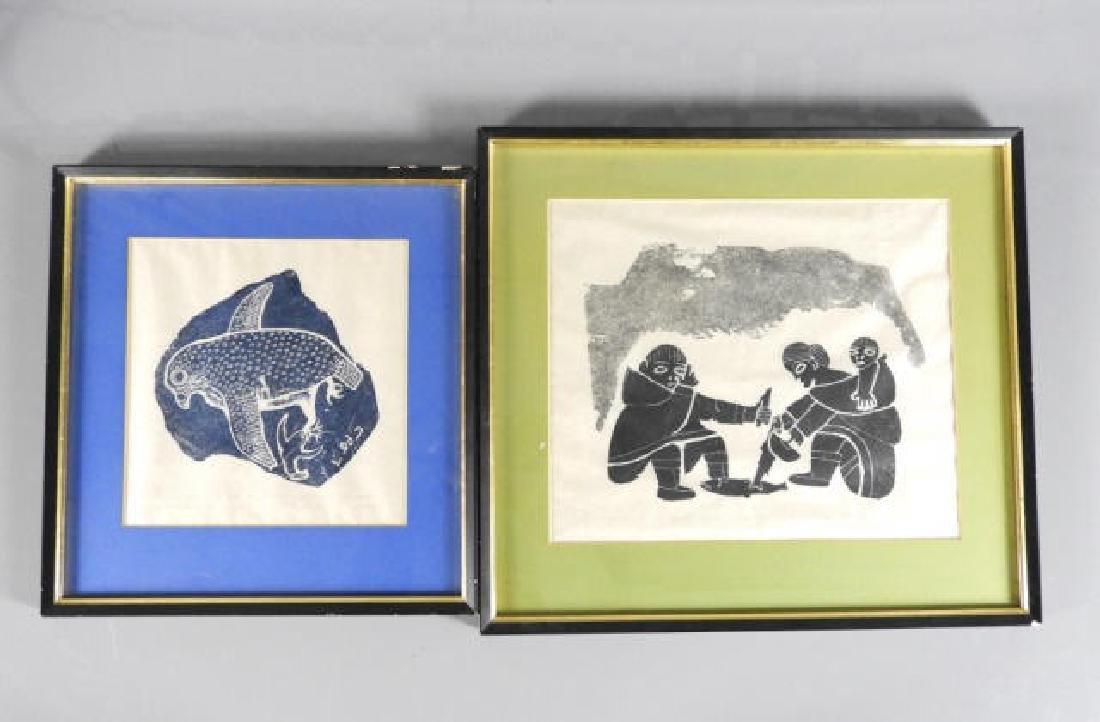 INUIT ART - Matiusi QILUQI (1911-1968, Puvirnituq)