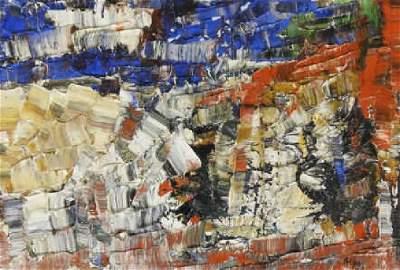 ART - Jean-Paul RIOPELLE (1923-2002, Canadian)