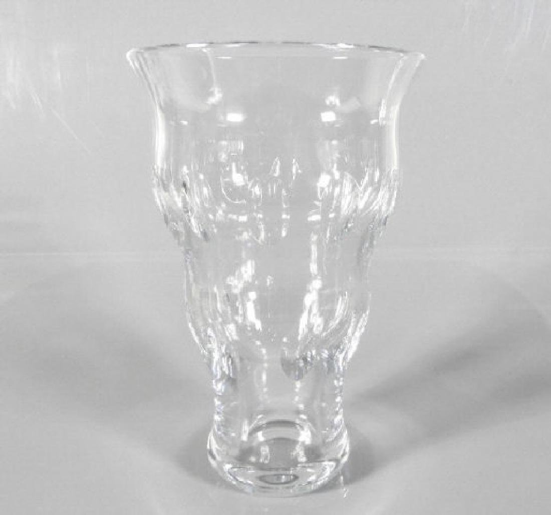 LARGE CRYSTAL VASE, WATERFORD
