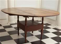 MID19TH CENTURY CHAIR TABLE  CHAISETABLE