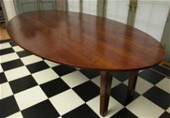 OVAL CHERRY DINING TABLE  TABLE OVALE
