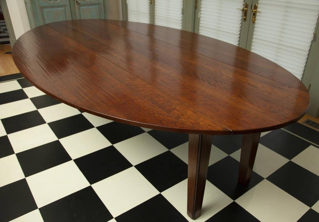 OVAL CHERRY DINING TABLE / TABLE OVALE