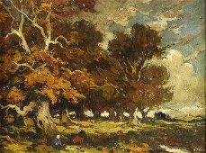 ART - E.P. Theodore ROUSSEAU (1812-1867, French)