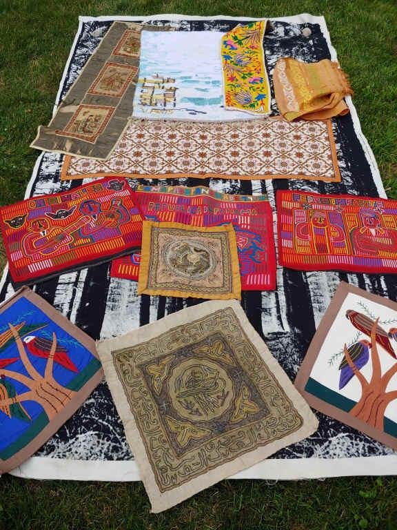 GROUP OF TEXTILE ART