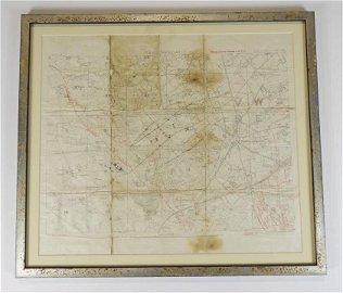 RARE WORLD WAR ONE MAPS - PASSCHENDAELE