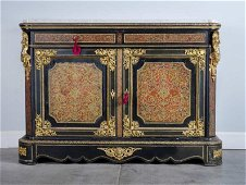 VERY GOOD BELLE EPOQUE BOULLE STYLE CREDENZA